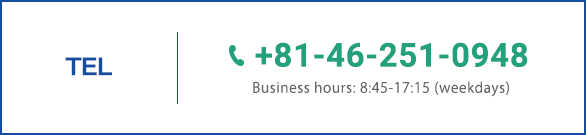 TEL +81-46-251-0948
